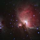 Orion Nebula & Running Man Nebula,                                BlueApoc