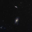 Messier 81 and Messier 82,                                Dean Jacobsen