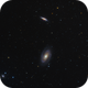 Messier 81 and Messier 82,                                Dean Jacobsen