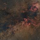 Cygnus, Sigma Art 50 at f/2  /  600D  /  EQ3-2,                                Pulsar59