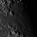 Mare Humorum & Gassendi on terminator,                                Astronominsk