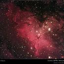 M16 Eagle Nebula,                                hmobservatory