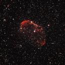 NGC6888, The Crescent Nebulae,                                Oscar Meca