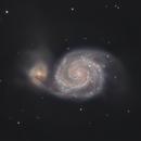 M51 - The Whirlpool galaxy!,                                astroniklas