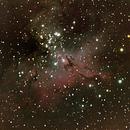 M16 Eagle nebulae,                                Darktytanus