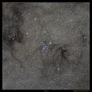 "Messier 7, ""My God, it's full of stars!"" ,                                Metsavainio"