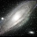 Andromeda Galaxy,                                gregde99