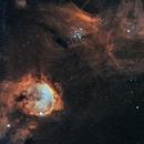 NGC 3324,                                Richard H