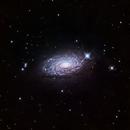 Sunflower Galaxy (M63) in LRGB,                                Jose Carballada
