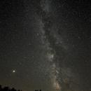 Mars and Milky Way,                                C.A.L. - Astroburgos
