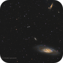M106 and 16 visible galaxies,                                Graem Lourens