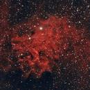 IC 405 (Flaming Star Nebula) and IC 410 (Tadpole Nebula),                                InfinitAstro