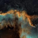 The Cygnus Wall in SHO,                                Chuck's Astrophot...