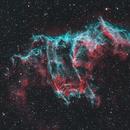 East Veil Nebula NGC6992 - HOO with RGB stars - DeepSkyWest,                                Andreas Eleftheriou