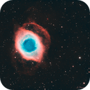 NGC 7293 - La nébuleuse de l'Helice - HOO,                                Ludovic