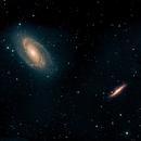 Bodes Nebula (M81 & M82),                                Mike