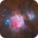 The Great Orion nebula (M42) - Two systems combination,                                Trần Hạ