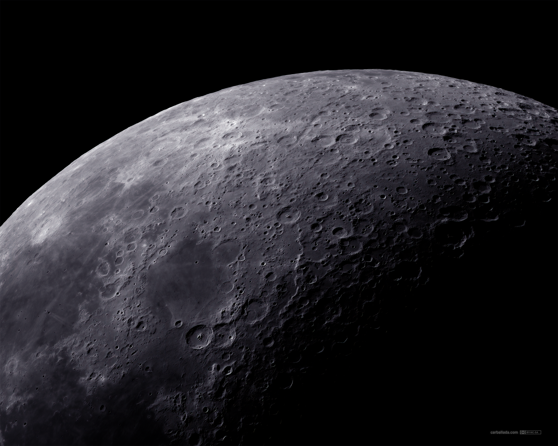 Moon 18th of April 21 mosaic,                                Jose Carballada