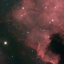 Cygnus Wall (North America Nebula),                                apothegary