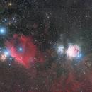 Orion, Horsehead and Flame Nebula,                                Stephan
