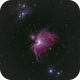 M42 Orion and M43 Running Man Nebulae,                                Tristram