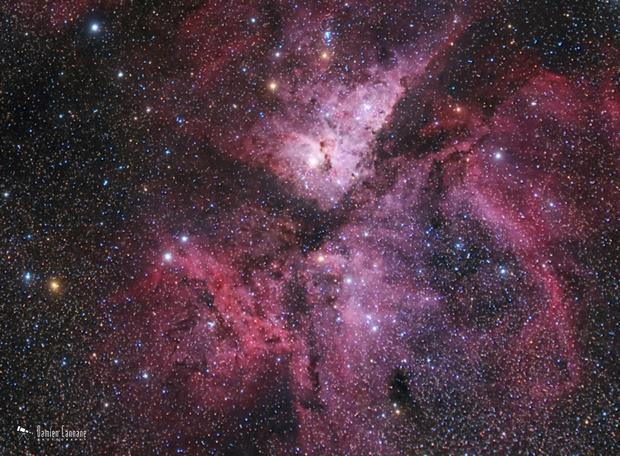 Eta Carinae Nebula,                                Damien Cannane