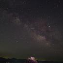 The Milky Way over Rockfish Valley, VA,                                Van H. McComas