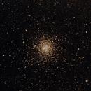 Messier 4 - A reddish globular cluster,                                deppski