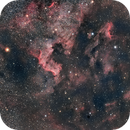 NGC7000 and Pelican nebula,                                GalacticRAVE