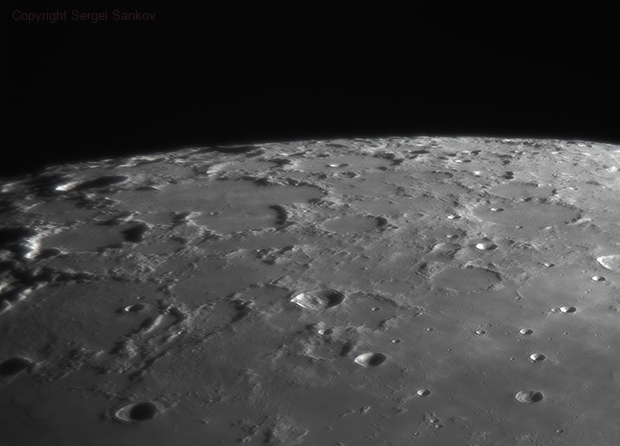 Moon 12.05.2019. Crater C. Mayer,                                Sergei Sankov