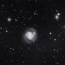 M61 and SN 2020jfo, LRGB, 15 May 2020,                                David Dearden