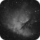 NGC281 HA-DSLR,                                Jammie Thouin
