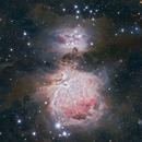 Orión and Running Man Nebula,                                Christian Vial Arce