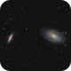 M 81 and M 82 LRGB,                                Paul Muskee