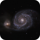 M51 (Whirlpool Galaxy),                                Patrick Scully