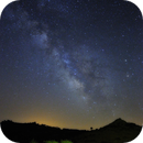 Vía Láctea en Prao Flores,                                Máximo Bustamante