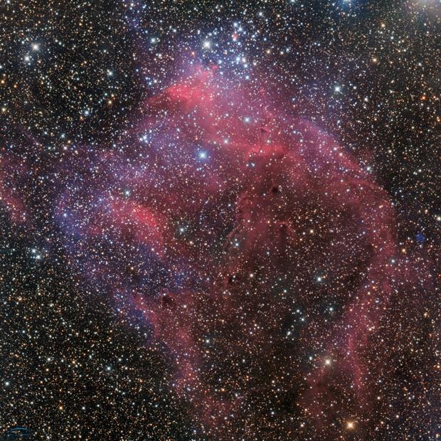 NGC3572,                                Philippe BERNHARD