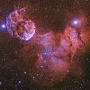 IC 443 Jellyfish Nebula,                                Pleiades Astropho...