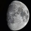 Moon 04.02.2020. Illumination 77.6%. Mosaic of 8 pictures.,                                Sergei Sankov