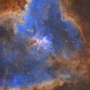 Heart nebula (IC 1805) in narrowband,                                Trần Hạ