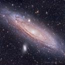 M31 - Andromeda Galaxy,                                Gaw