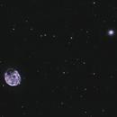 NGC246 - Skull Nebula (with NGC255) / 2020,                                Mikko Viljamaa