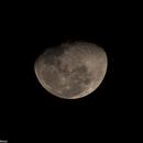 Luna sobre Santiago, editado,                                Luciano Hormazábal