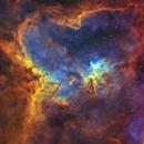 Heart Nebula IC 1805,                                William Burns