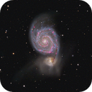 Project M@H: The Whirlpool Galaxy.,                                Edoardo Luca Radice (Astroedo)