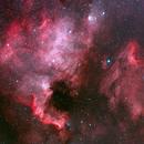 Pelican and North American nebulae,                                Boommutt