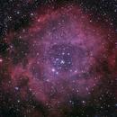 NGC 2252, NGC 2244, NGC 2237, NGC 2238, NGC 2239, NGC 2246 : Rosette Nebula 2h14,                                Christophe de la Chapelle