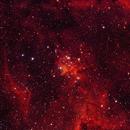 The heart of the heart nebula,                                AstroStace
