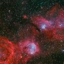 NGC 3293, NGC 3324,                                Toshiya Arai