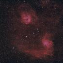 IC 405 & IC 410 HaRGB,                                gmartin02